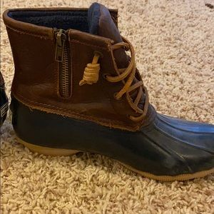 Sperry Shoes - Sorry duck boots navy blue!